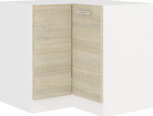 Επιδαπέδιο γωνιακό ντουλάπι Ristretto 90×90 DN BB