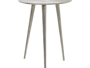 Τραπέζι Μεταλλικό Επινικελωμένο 39x39x51εκ. inart 3-50-357-0004 – inart – 3-50-357-0004