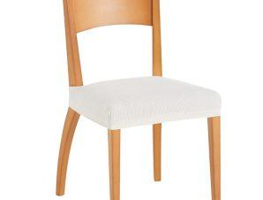 Σετ (2 Τμχ) Ελαστικά Καλύμματα-Καπάκια Καρέκλας Creta – C/1 Ιβουάρ