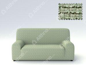 Ελαστικά Καλύμματα Προσαρμογής Σχήματος Καναπέ Canada – C/6 Πράσινο – Τριθέσιος-10+ Χρώματα Διαθέσιμα-Καλύμματα Σαλονιού