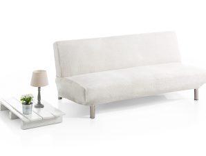 Ελαστικά Καλύμματα Καναπέ Κρεβάτι Clic Clac Bielastic Elegant – C/1 Ιβουάρ