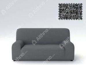 Ελαστικά Καλύμματα Προσαρμογής Σχήματος Καναπέ Σενιλ Bielastic Elegant – C/10 Γκρι – Τετραθέσιος-10+ Χρώματα Διαθέσιμα-Καλύμματα Σαλονιού