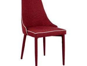 Καρέκλα Μεταλλική-Υφασμάτινη Μπορντώ 49,5x60x90εκ. Freebox FB90064.04 (Υλικό: Μεταλλικό, Χρώμα: Μπορντώ ) – Freebox – FB90064.04