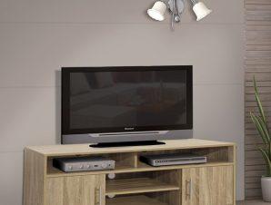 Έπιπλο Τηλεόρασης Μελαμίνης Sonama 120x40x54εκ. Freebox FB92202.02 (Υλικό: Μελαμίνη, Χρώμα: Sonama) – Freebox – FB92202.02 SONAMA