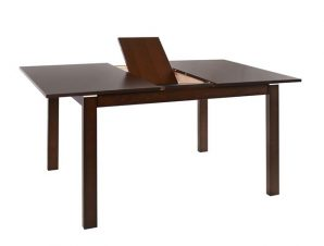 Τραπέζι Τραπεζαρίας Ανοιγόμενο Ξύλινο Καρυδί 120+30x80x75Υεκ. Freebox FB90123.01 (Υλικό: Ξύλο, Χρώμα: Καρυδί) – Freebox – FB90123.01