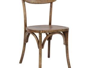 Καρέκλα Ξύλινη Καφέ 49×47,5×85,5εκ. Freebox FB90179.01 (Υλικό: Ξύλο, Χρώμα: Καφέ) – Freebox – FB90179.01