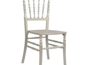 Καρέκλα Ξύλινη Περλέ Ασημί 40×46,5×90εκ. Freebox FB98056.01 (Υλικό: Ξύλο, Χρώμα: Ασημί ) – Freebox – NAPOLEON ΜΕ ΚΟΥΚΟΥΛΑ
