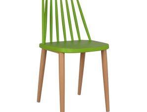 Καρέκλα Τραπεζαρίας Μεταλλικό-Πολυπροπυλενίου Πράσινη 42,5x47x81,5εκ. Freebox FB98052.08 (Υλικό: Μεταλλικό, Χρώμα: Πράσινο ) – Freebox – FB98052.08