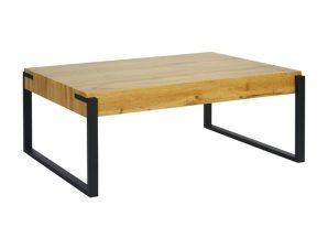 Τραπέζι Σαλονιού Mdf Με Μεταλλικά Πόδια 110x64x43Υεκ. Freebox FB98555.01 (Υλικό: Μεταλλικό) – Freebox – FB98555.01