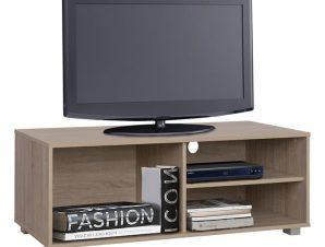 Έπιπλο Τηλεόρασης Μελαμίνης Sonama120x40x41εκ. Freebox FB92339.01 (Υλικό: Μελαμίνη, Χρώμα: Sonama) – Freebox – FB92339.01