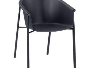 Πολυθρόνα Πολυπροπυλενίου Μαύρη 57×56,5×78εκ. Freebox FB98685.02 (Υλικό: Πολυπροπυλένιο, Χρώμα: Μαύρο) – Freebox – FB98685.02