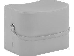 Σκαμπώ Με Pu Ανοιχτό Γκρι 50x34x35Υεκ. Freebox FB98630.10 (Υλικό: PU, Χρώμα: Γκρι) – Freebox – FB98630.10