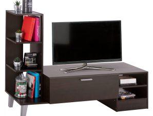 Έπιπλο Τηλεόρασης Μελαμίνης Wenge 150x36x96Υεκ. Freebox FB92250.01 (Υλικό: Μελαμίνη, Χρώμα: Wenge) – Freebox – FB92250.01