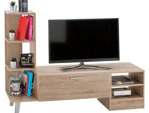 Έπιπλο Τηλεόρασης Μελαμίνης Sonama 150x36x96Υεκ. Freebox FB92250.02 (Υλικό: Μελαμίνη, Χρώμα: Sonama) – Freebox – FB92250.02