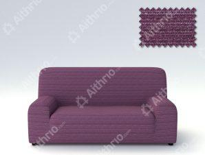 Ελαστικά καλύμματα καναπέ Ibiza-Διθέσιος-Μωβ-10+ Χρώματα Διαθέσιμα-Καλύμματα Σαλονιού