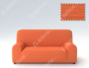 Ελαστικά καλύμματα καναπέ Ibiza-Διθέσιος-Πορτοκαλί-10+ Χρώματα Διαθέσιμα-Καλύμματα Σαλονιού
