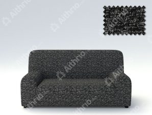 Ελαστικά καλύμματα καναπέ Malta-Μαύρο-Τριθέσιος-5 Χρώματα Διαθέσιμα