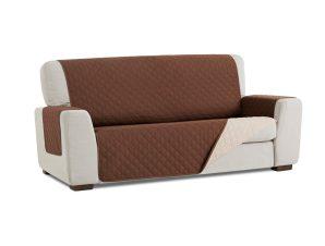 Σταθερά Καλύμματα Διπλής Όψης Universal Quilt – Καφέ/Μπεζ – Πολυθρόνα-10+ Χρώματα Διαθέσιμα-Καλύμματα Σαλονιού