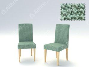 Σετ (2 Τμχ) Ελαστικά Καλύμματα Καρέκλας Με Πλάτη Super Elastic Milos – C/23 Μέντα