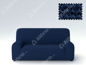 Ελαστικά Καλύμματα Προσαρμογής Σχήματος Καναπέ Milos – C/4 Μπλε – Διθέσιος-10+ Χρώματα Διαθέσιμα-Καλύμματα Σαλονιού