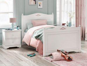 Παιδικό κρεβάτι ημίδιπλο RU-1303 – RU-1303