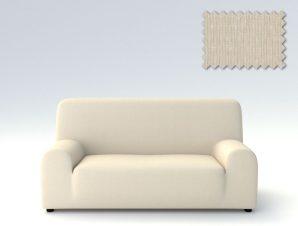 Ελαστικά καλύμματα καναπέ Peru-Τριθέσιος-Ιβουάρ-10+ Χρώματα Διαθέσιμα-Καλύμματα Σαλονιού