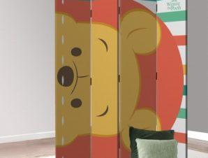 Face Winnie the Pooh Disney Παραβάν 80×180 cm [Δίφυλλο]