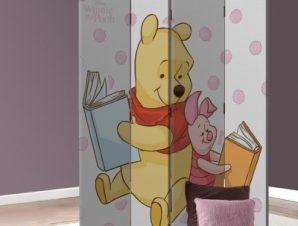 Winnie the Pooh & Pigglet! Disney Παραβάν 80×180 cm [Δίφυλλο]