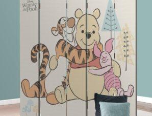 Ο Winnie και οι φίλοι του! Disney Παραβάν 80×180 cm [Δίφυλλο]