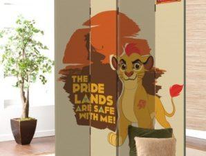 The Pride Lands, Lion Guard Disney Παραβάν 80×180 cm [Δίφυλλο]