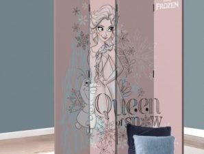 Βασίλισσα του Χιονιού, Frozen Disney Παραβάν 80×180 cm [Δίφυλλο]