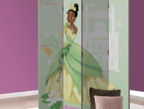 Tiana, Busy Princess Disney Παραβάν 80×180 cm [Δίφυλλο]