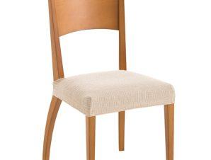 Σετ (2 Τμχ) Ελαστικά Καλύμματα-Καπάκια Καρέκλας Bielastic Elegant – C/1 Ιβουάρ
