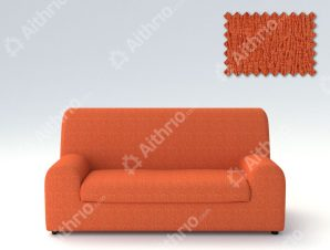 Ελαστικά καλύμματα καναπέ Ξεχωριστό Μαξιλάρι Valencia-Πολυθρόνα-Πορτοκαλί-10+ Χρώματα Διαθέσιμα-Καλύμματα Σαλονιού
