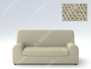 Ελαστικά καλύμματα καναπέ Ξεχωριστό Μαξιλάρι Bielastic Viena-Τριθέσιος-Μπεζ-10+ Χρώματα Διαθέσιμα-Καλύμματα Σαλονιού