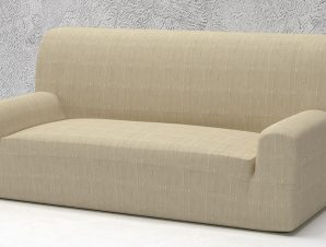 Ελαστικά καλύμματα καναπέ Tania-Τετραθέσιος-Ιβουάρ-10+ Χρώματα Διαθέσιμα-Καλύμματα Σαλονιού